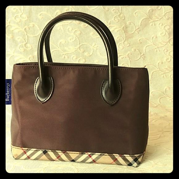 08f50c49505d Burberry Handbags - ✨BURBERRY BLUE LABEL NOVA CHECK small Nylon💕💖